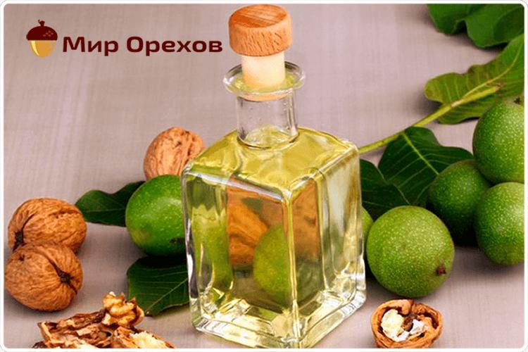 грецких орехов масло
