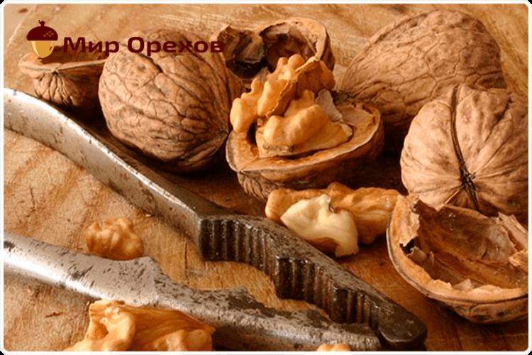 грецкий орех колотый