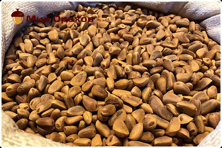 кедровые орехи неочищенные
